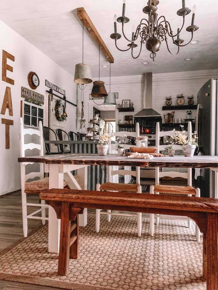 Farmhouse Renovation Kitchen #farmhouse #makeover #decorhomeideas
