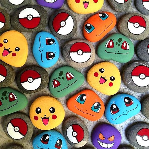 Funny Painted Rocks