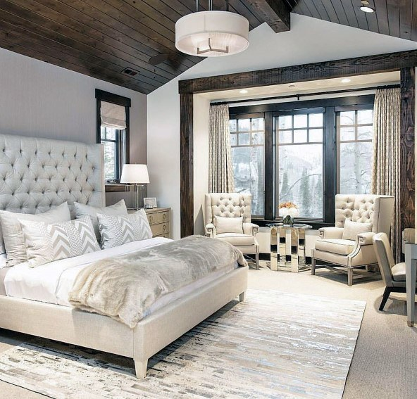 Gold and Silver Bedroom #bedroom #silver #decorhomeideas