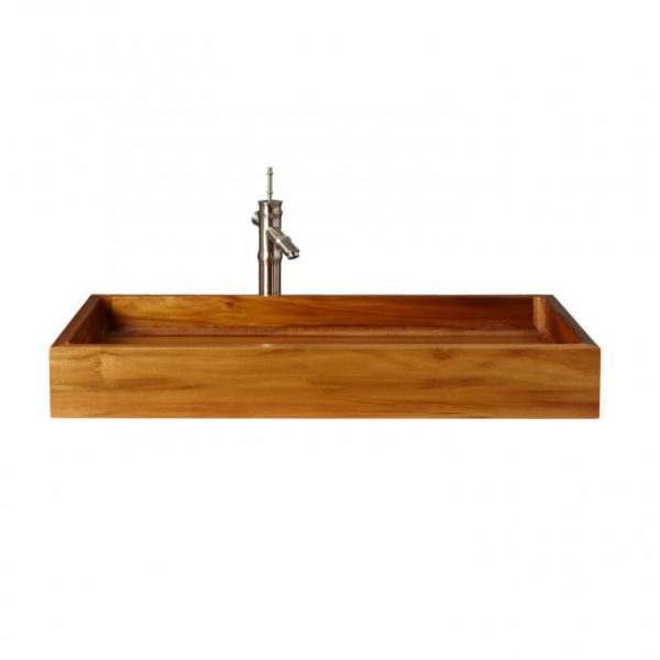 Rectangular Teak Sink