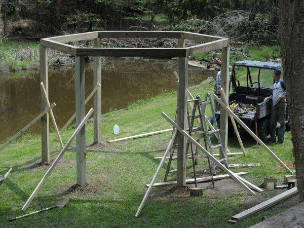 Fire Pit Swing Step by Step