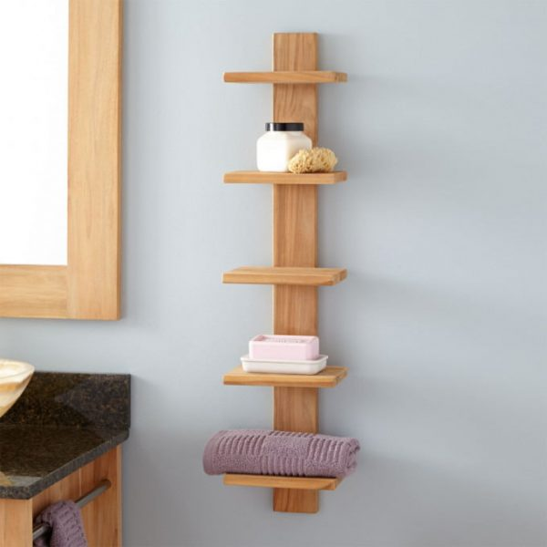 Teak Shelf Natural Teak