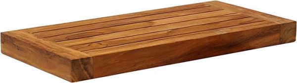 Teak Wall Shelf