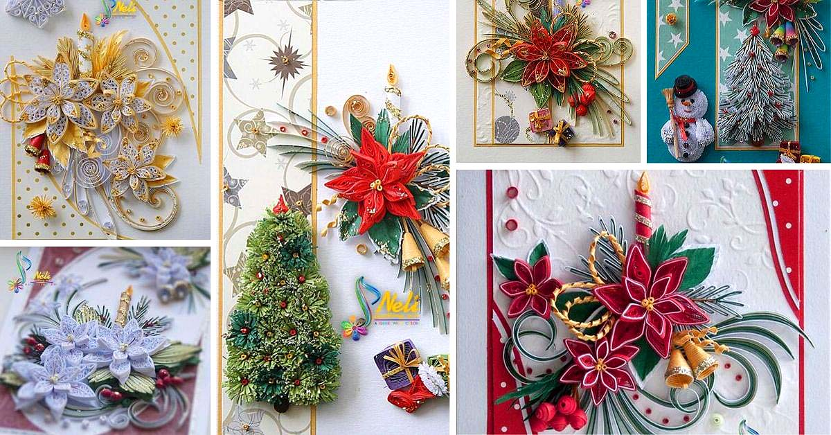 Best Christmas Quilling Cards