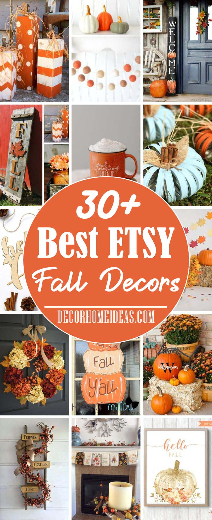 Best Etsy Fall Decorations