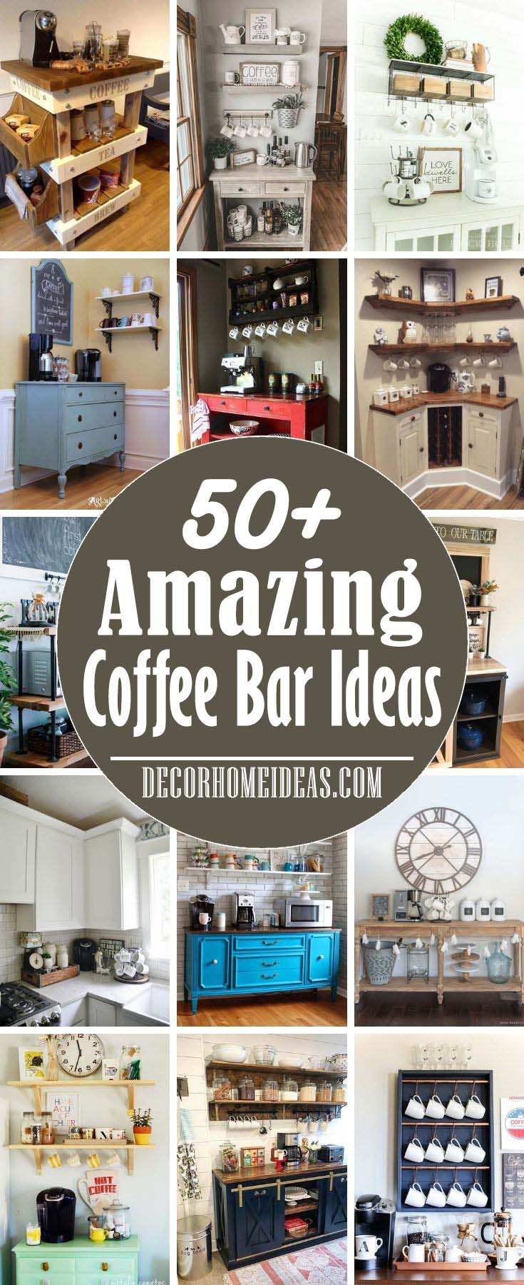 50 Best Diy Coffee Station Ideas For All Coffee Lovers
