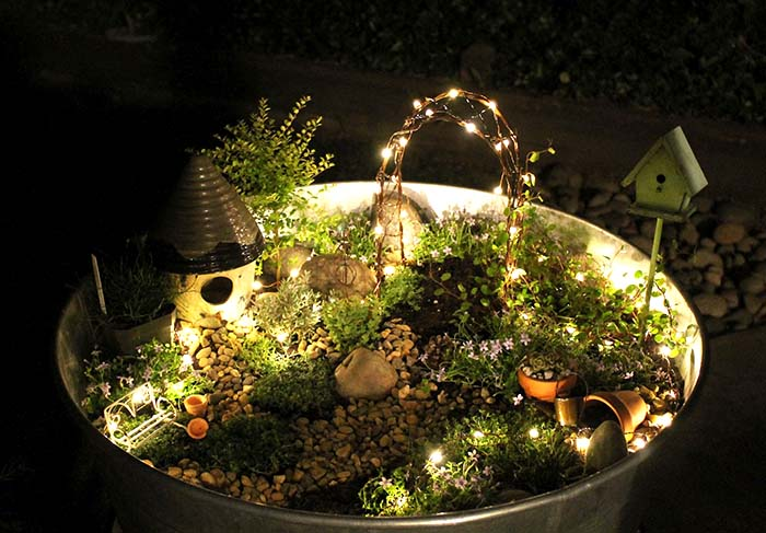 Fairies In The Garden #fairygarden #diy #decorhomeideas