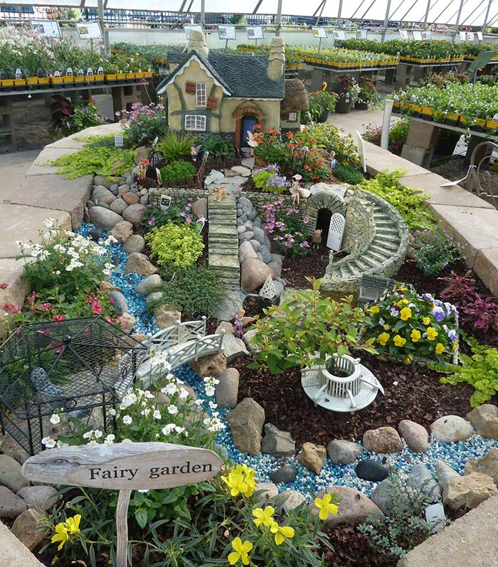 Fairy Wonderland #fairygarden #diy #decorhomeideas