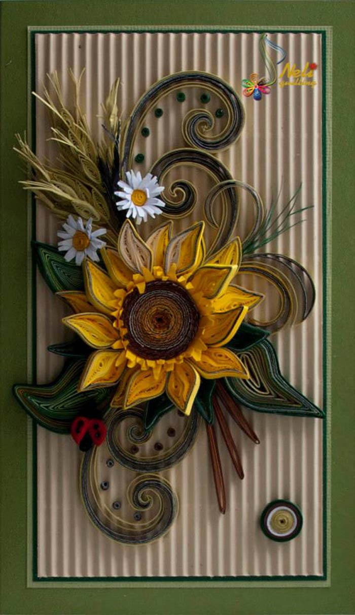 Fall Decor Quilling Cards