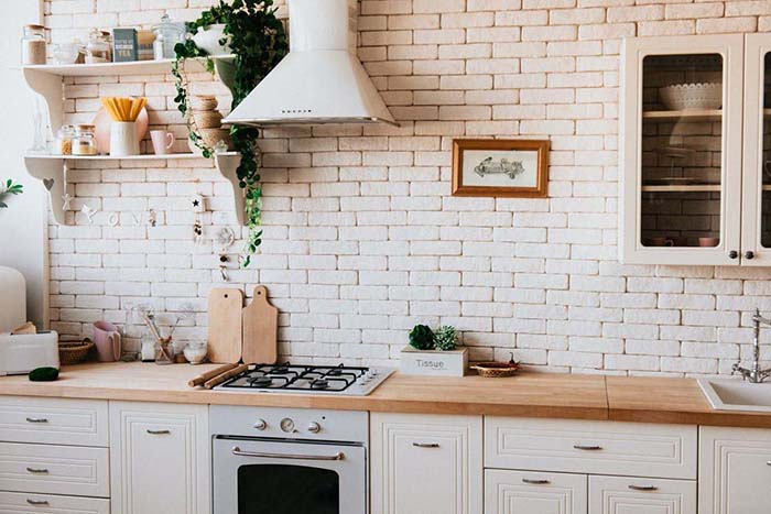 Floating Shelves Kitchen Storage