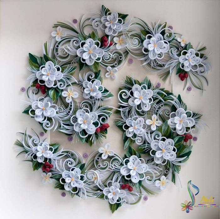 Framed Quilling Cards