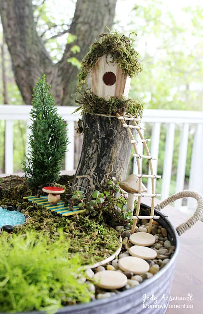 How To Make Affordable Fairy Garden #fairygarden #diy #decorhomeideas