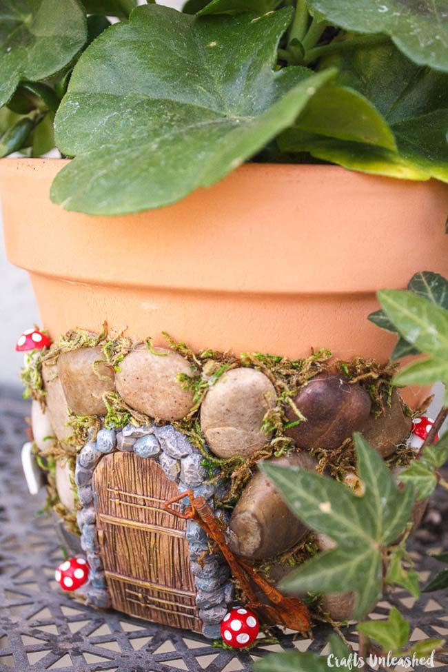 Magical Fairy Planter #fairygarden #diy #decorhomeideas