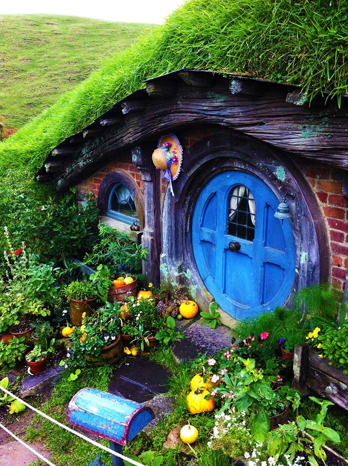 Middle Earth Fairy House #fairygarden #diy #decorhomeideas