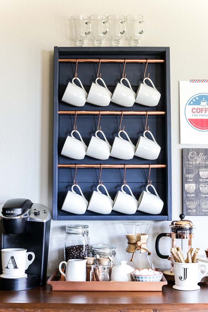 One Day Coffee Bar #coffeebar #coffeestation #decorhomeideas