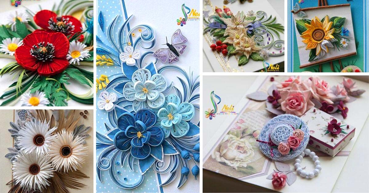 Paper Quilling Cards Ideas