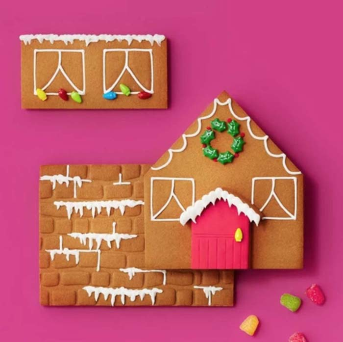 Best Gingerbread House Glue #Christmas #gingerbread #house #decorhomeideas