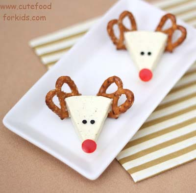 Cheese Reindeers