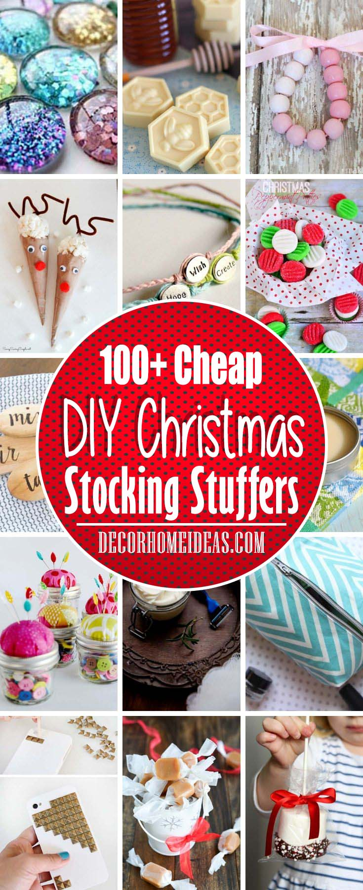 100 Cheap Christmas Diy Stocking Stuffers That You Will Love
