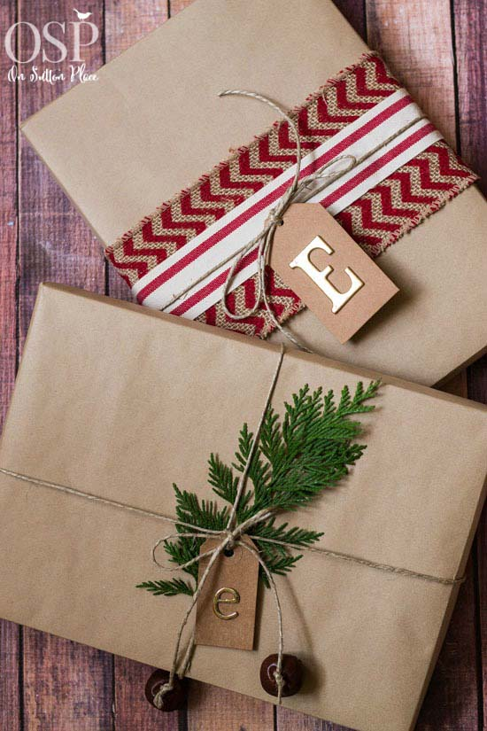 Christmas Gift Wrap Ideas #Christmas #diy #gift #wrapping #decorhomeideas