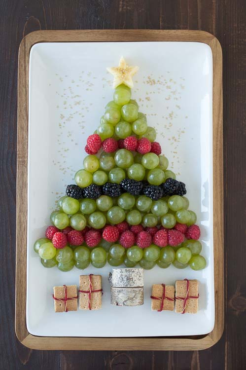 Christmas Tree Fruit Platter