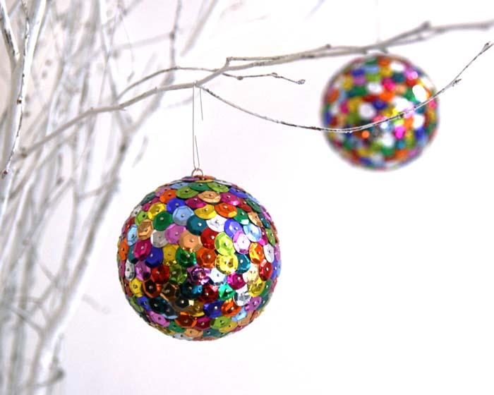 DIY Sequin Ornament