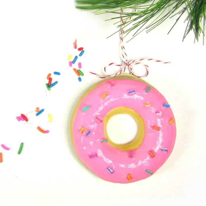 Donut Ornament Sprinkles