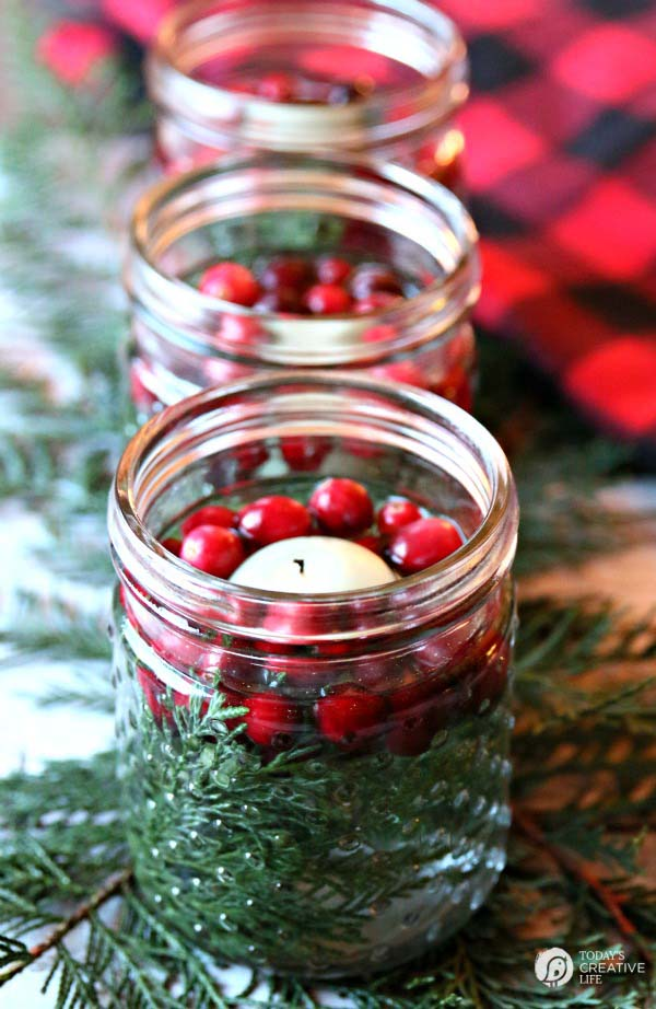 Easy Holiday Table Decor #Christmas #natural #decoration #decorhomeideas