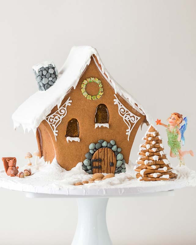 Fairy Gingerbread House #Christmas #gingerbread #house #decorhomeideas