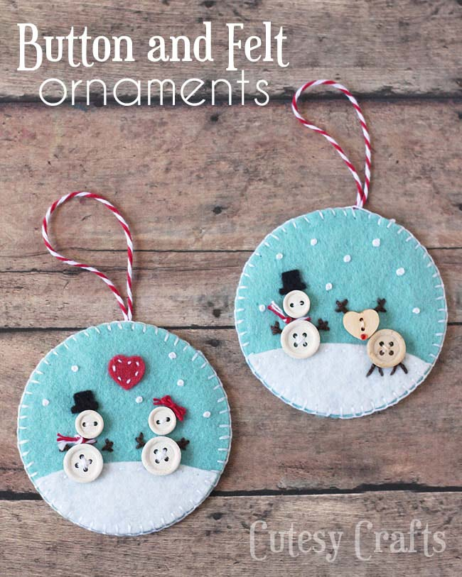 Felt Diy Christmas Ornaments