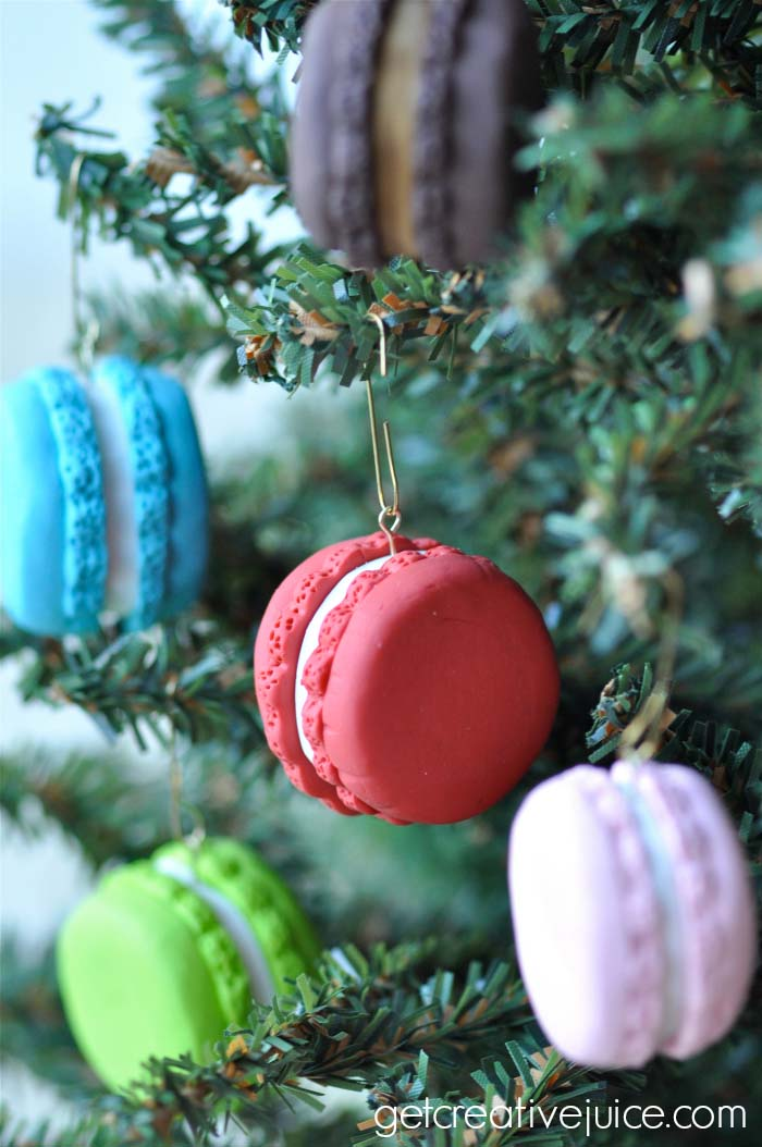 French Macaron Ornaments