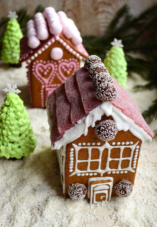Gingerbread Candy House #Christmas #gingerbread #house #decorhomeideas