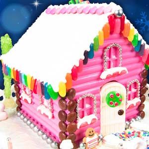 Gingerbread Chocolate House #Christmas #gingerbread #house #decorhomeideas