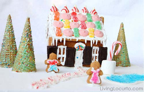 Gingerbread House Diy #Christmas #gingerbread #house #decorhomeideas