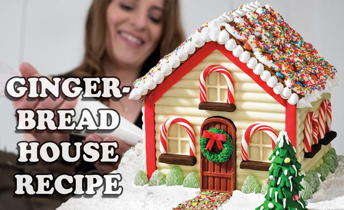 Gingerbread House #Christmas #gingerbread #house #decorhomeideas