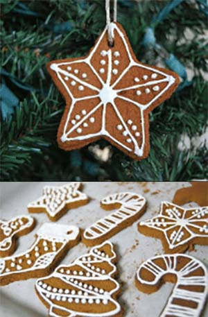 Heavenly Scented Iced Cinnamon Ornaments