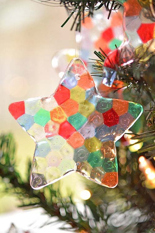 Melted Bead Ornaments