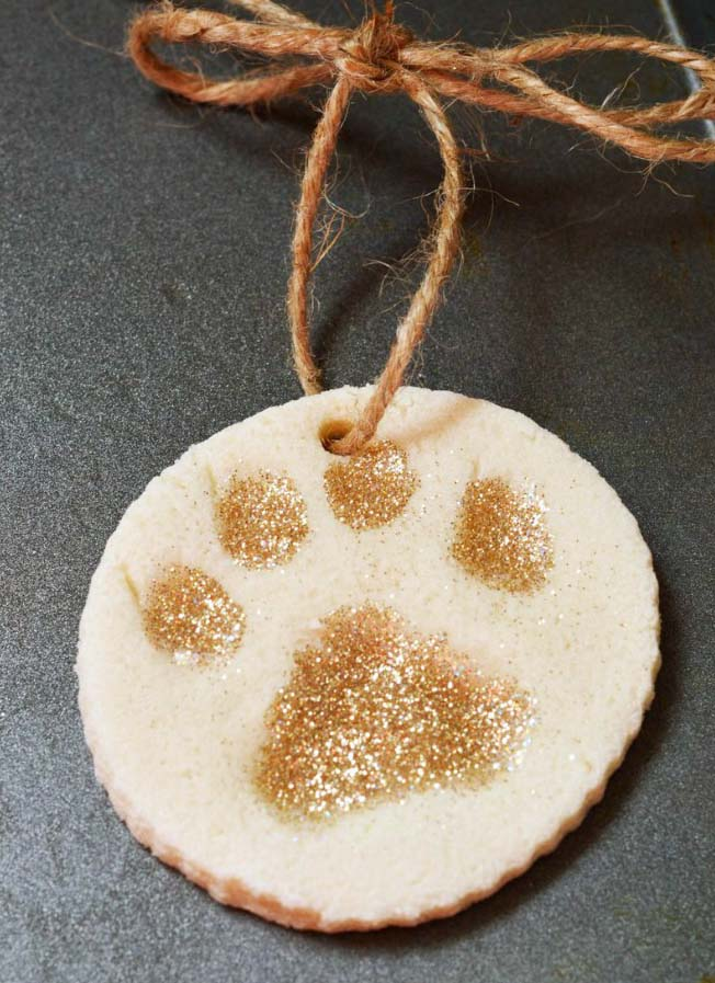 Paw Ornament Christmas Ornament