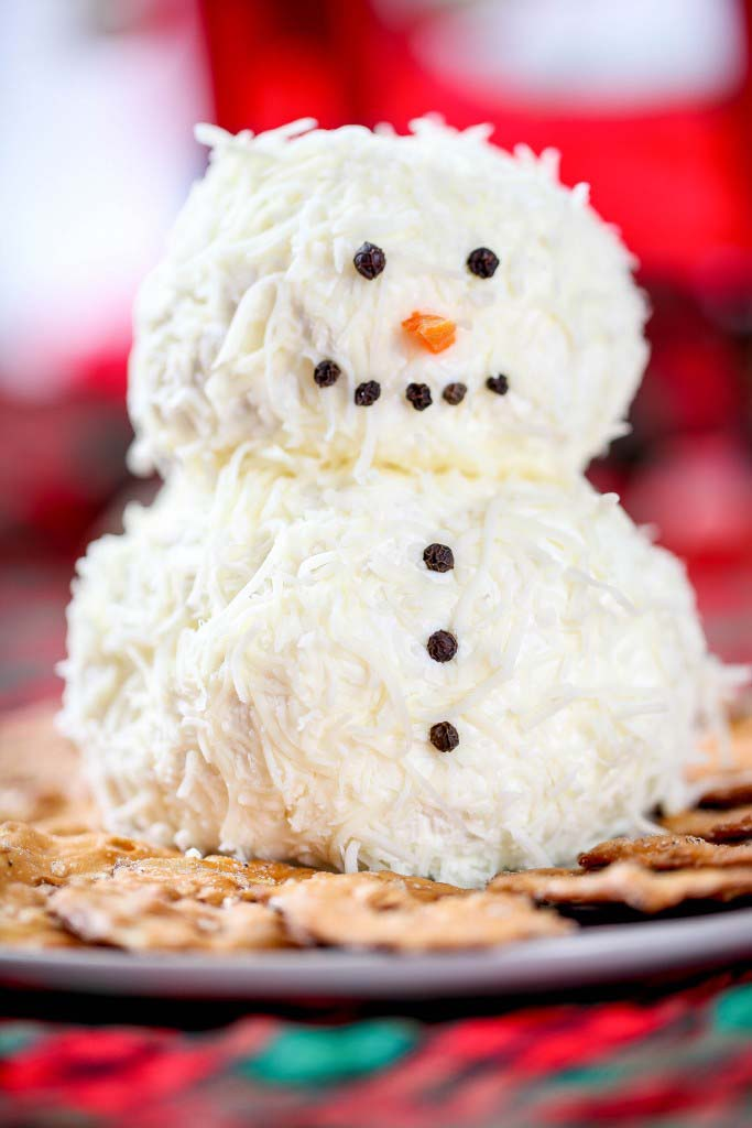Ranch Snowman Cheeseball