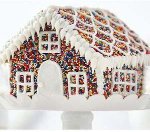 Sprinkle House #Christmas #gingerbread #house #decorhomeideas