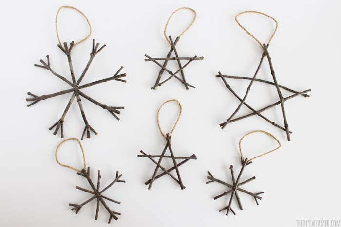 Twig Ornaments