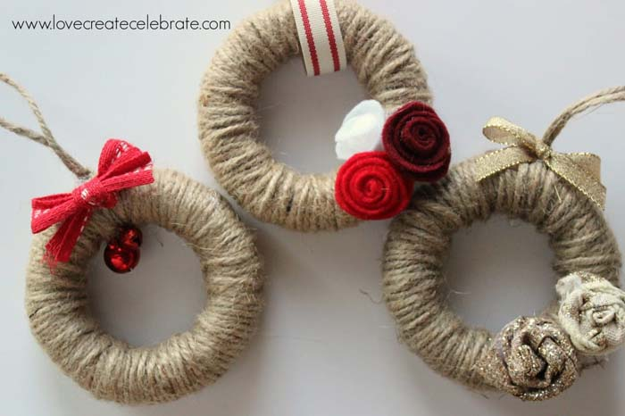 Twine Wreath Ornaments