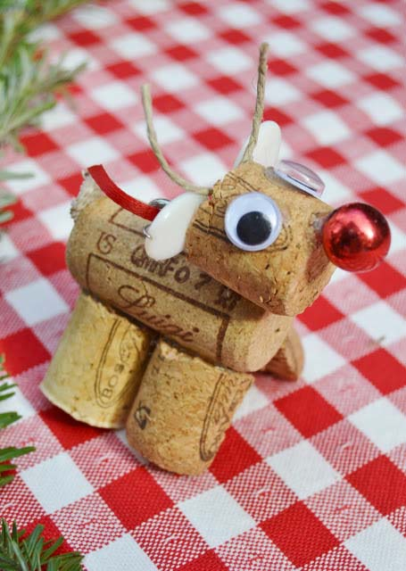 Wine Cork Ornament II