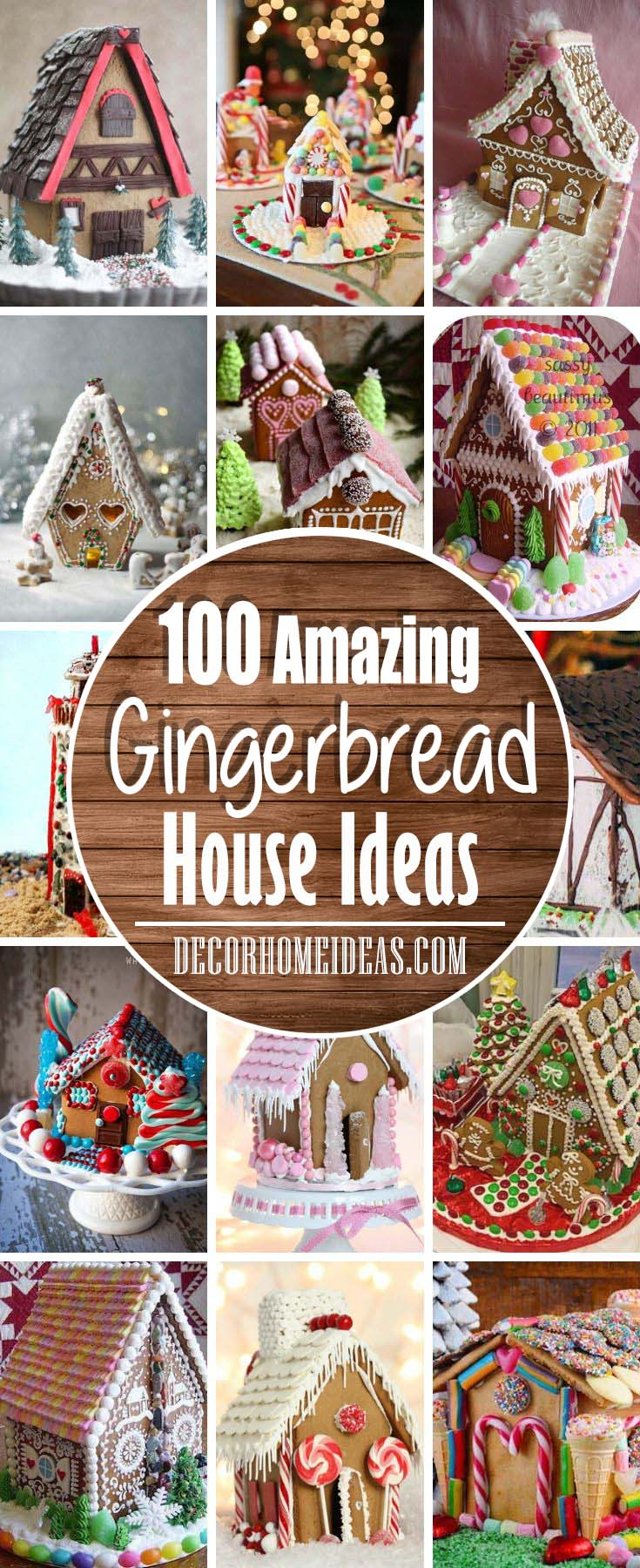Best Gingerbread House Ideas #gingerbread #house #decorhomeideas