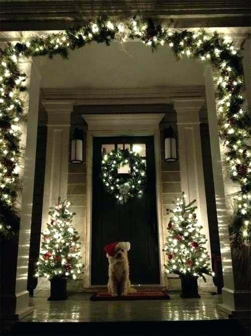Christmas Lights for Front Porch #Christmas #diy #lights #decorhomeideas