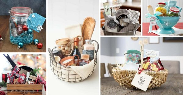 100 Super Cute Diy Christmas Gift Baskets That Anyone Would Love