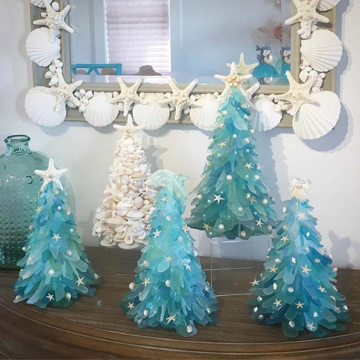 Sea Glass Christmas Tree 5