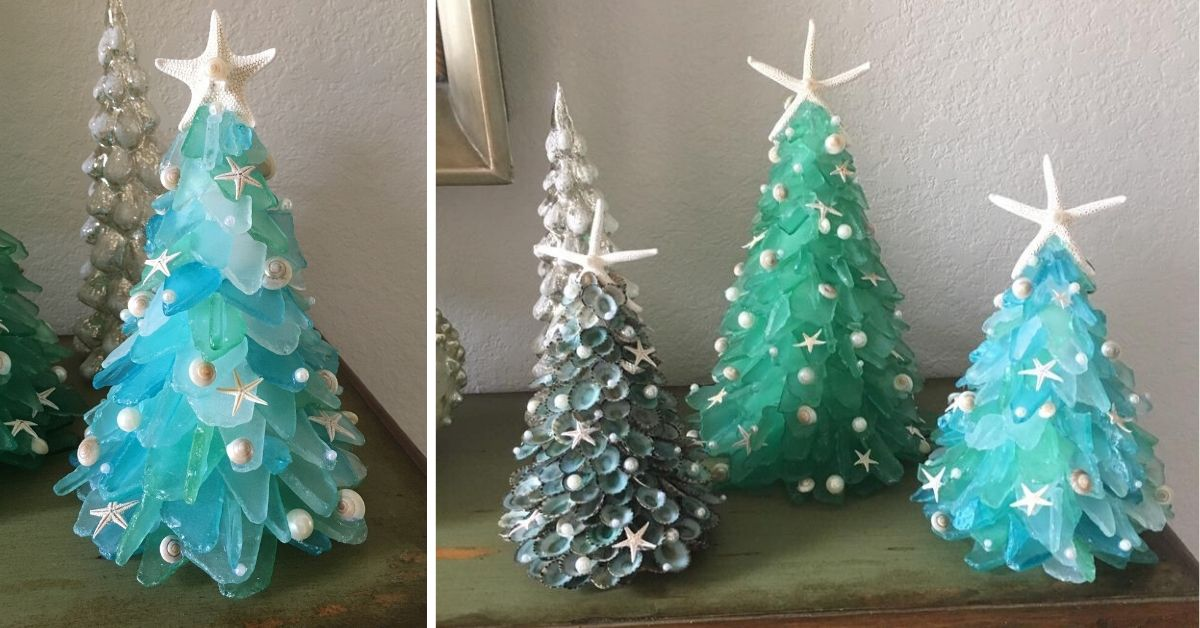 Sea Glass Christmas Tree Is Here To Enhance Your Holiday