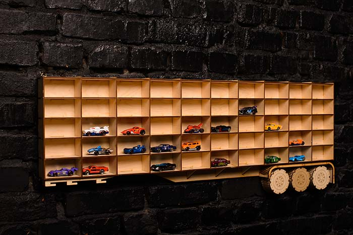 Toy Storage Wall Decor #hotwheels #toystorage #walldecor #decorhomeideas
