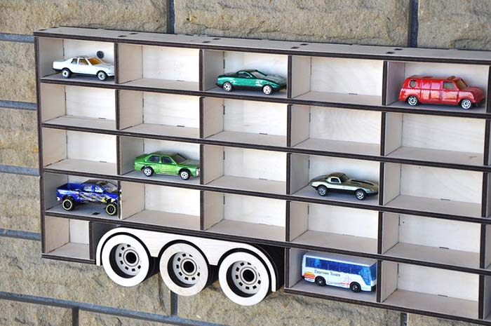Toy Storage Wall Decor Hot Wheels #walldecor #toystorage #decorhomeideas